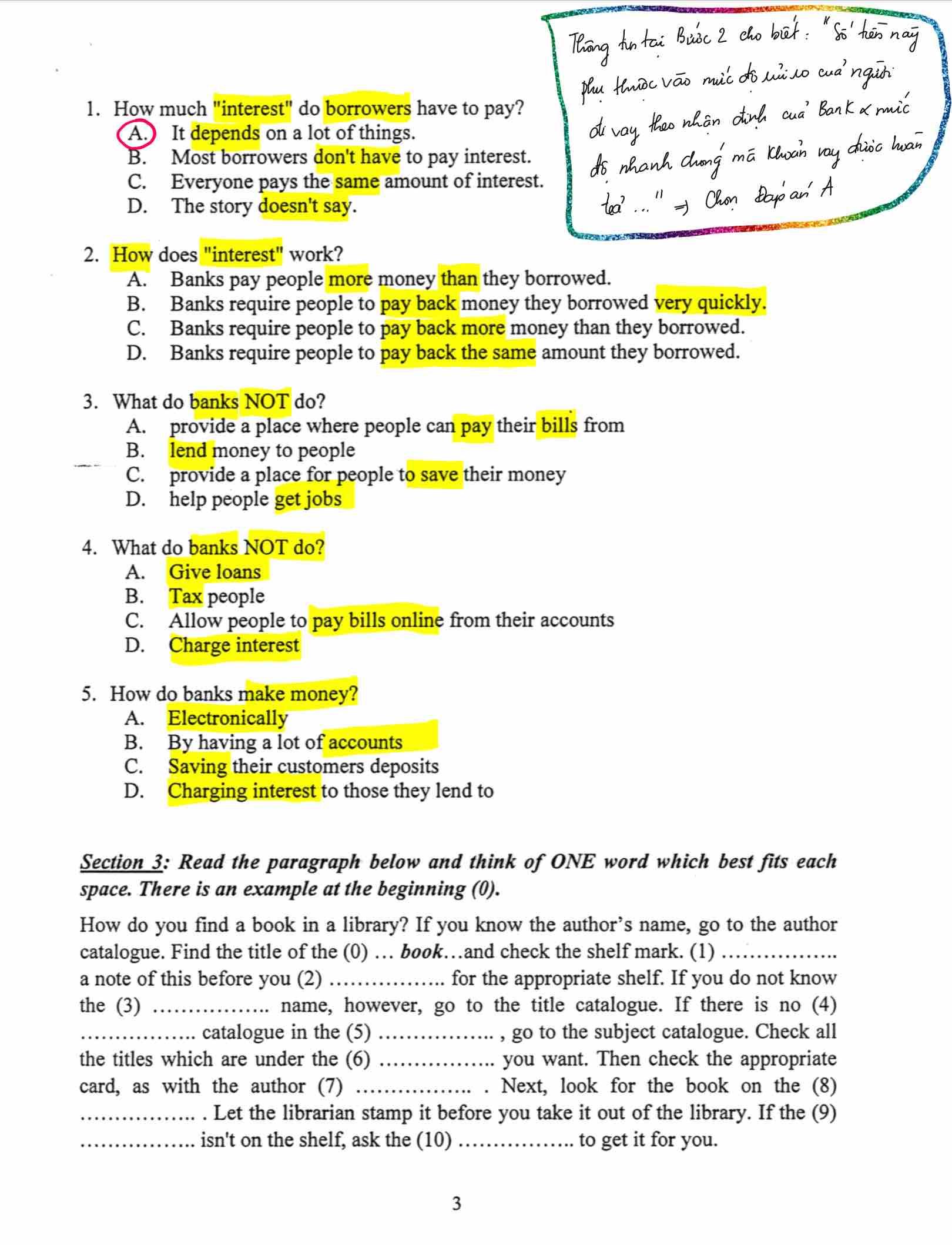 Đề thi CPA Môn Tiếng Anh (2)